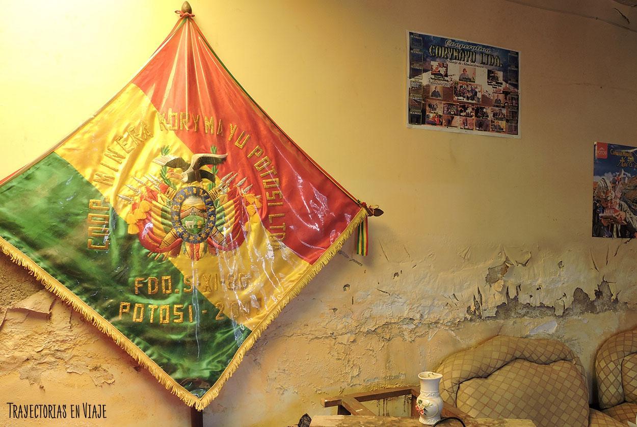 Sede cooperativa de las minas de Potosí