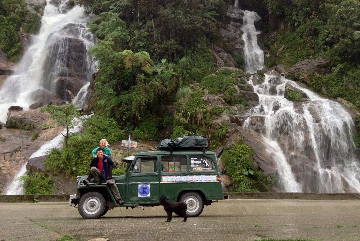 De Argentina a Alaska en camioneta