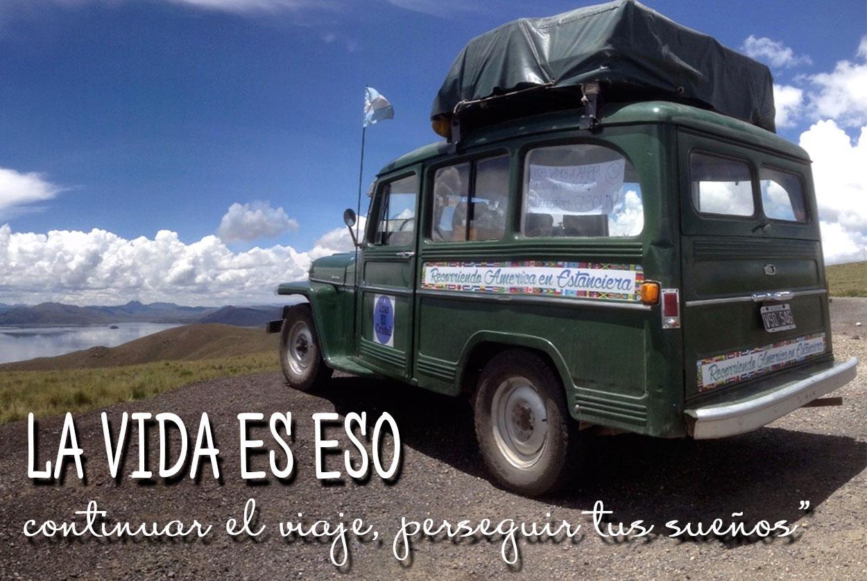 De Argentina a Alaska en auto