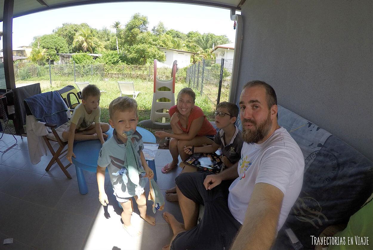 Viajar sin pagar alojamiento en Cayenne