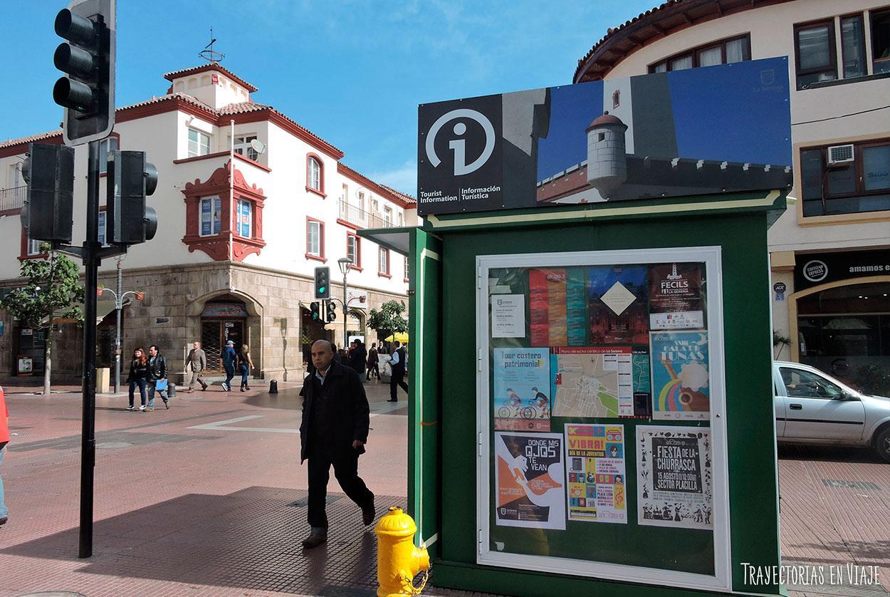 Oficinas de atención al turista en La Serena