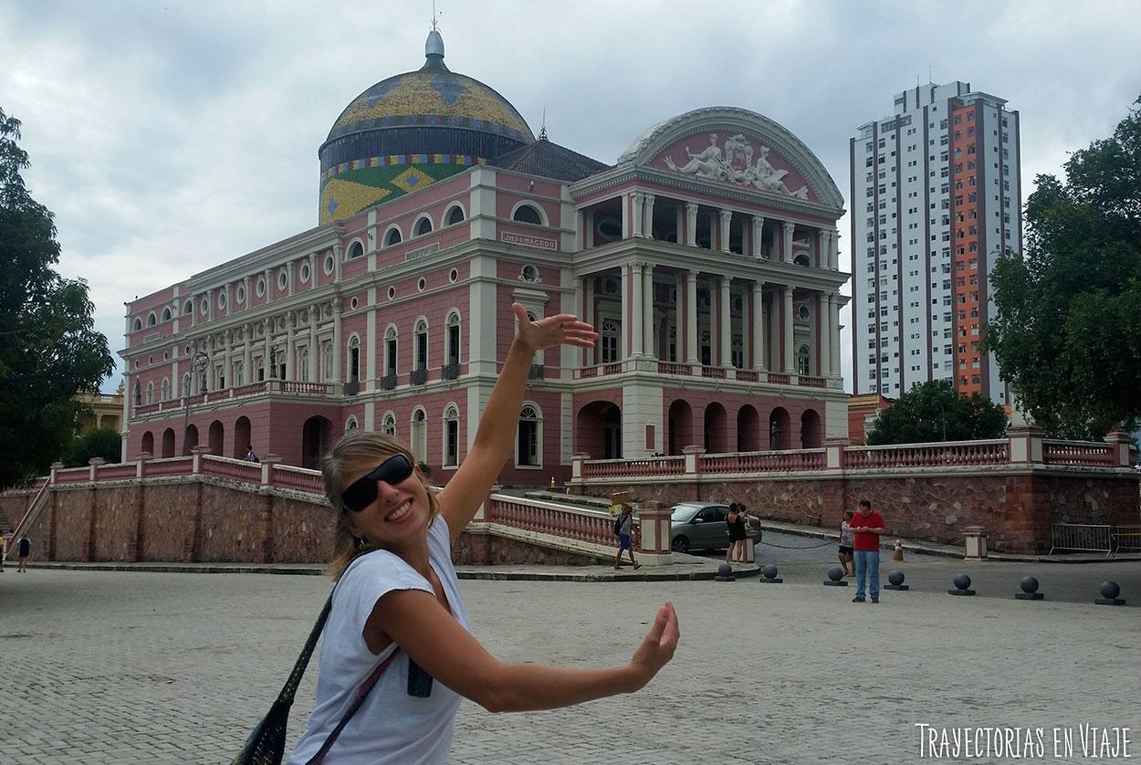 Qué hacer en Manaos - Teatro Amazonas