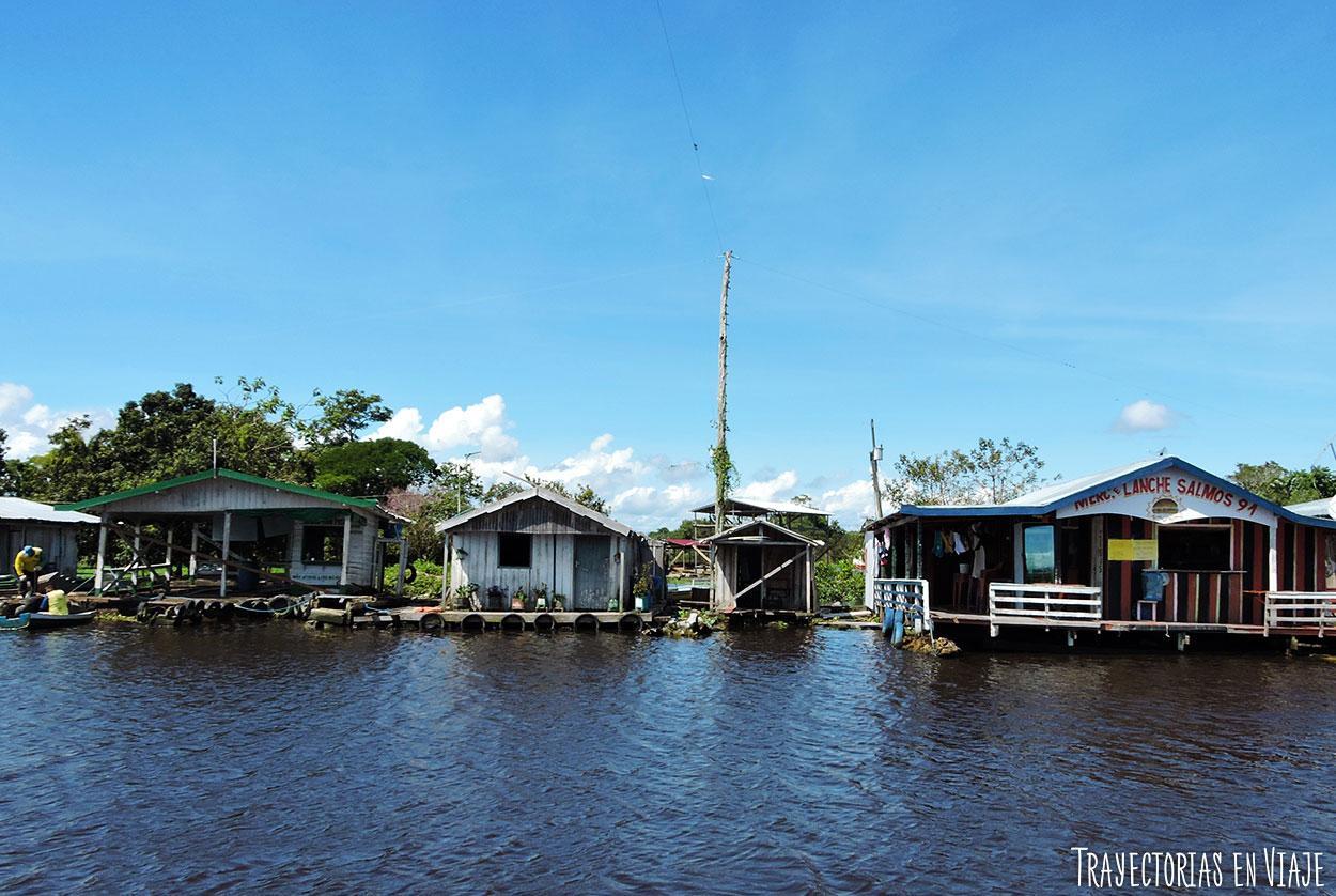 Típica imagen de la Amazonía brasileña.