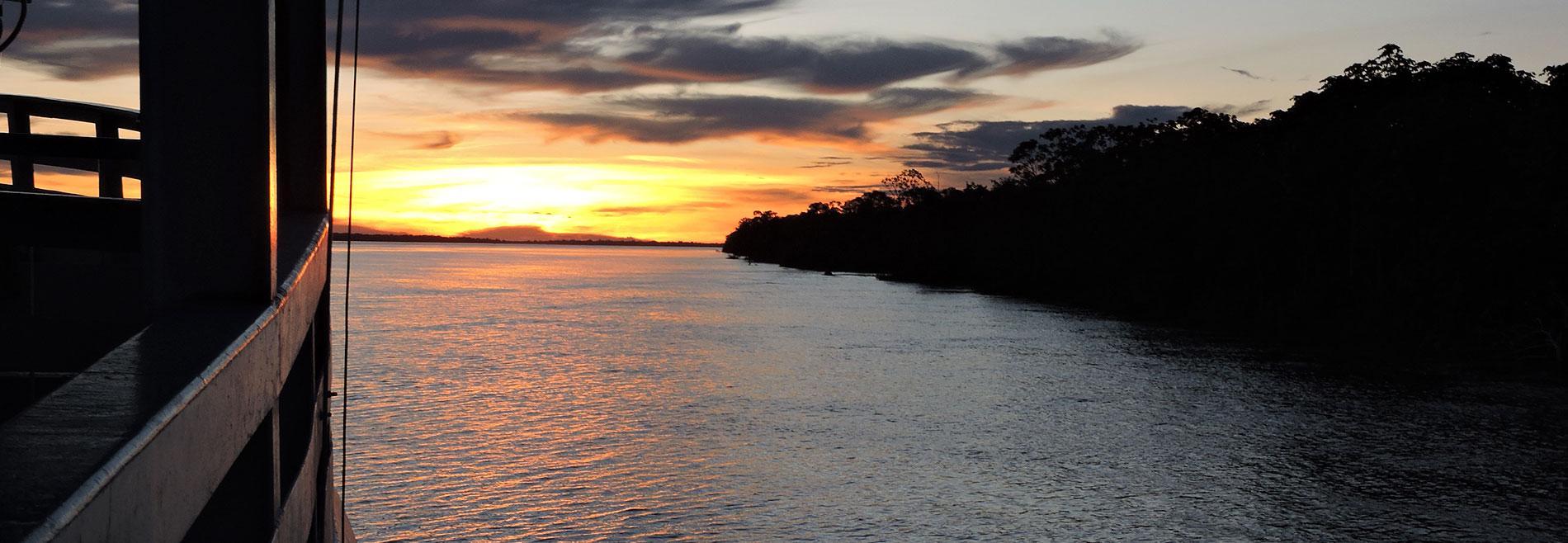 Diario de viaje en barco por el Amazonas de Brasil