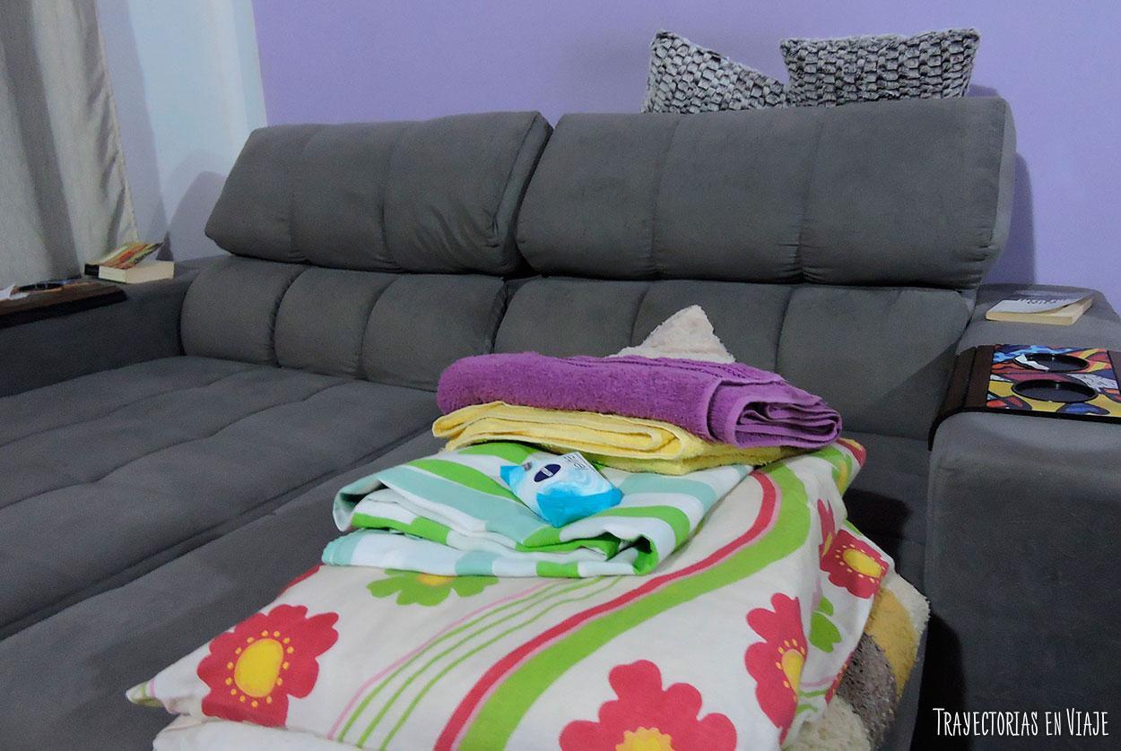 Couchsurfing para viajar a Brasil