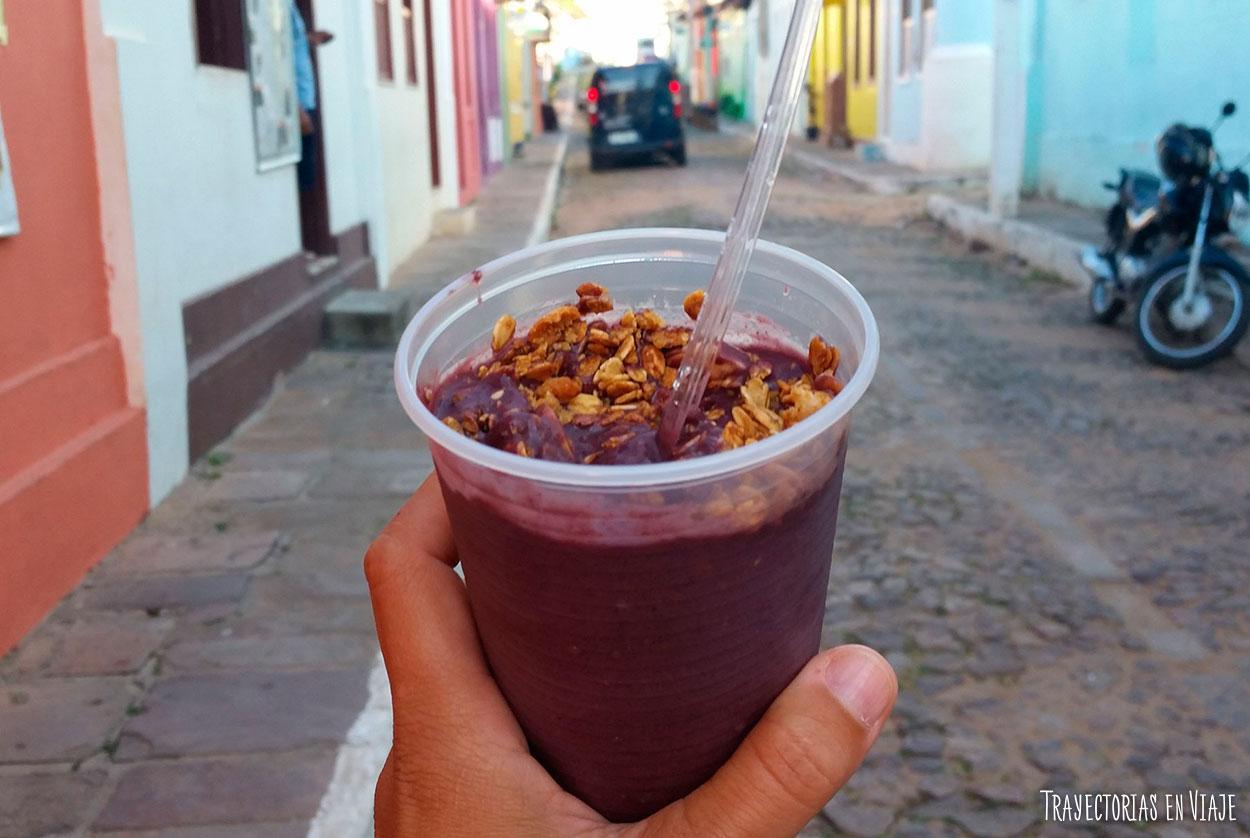 Viajar a Brasil y comer acaí