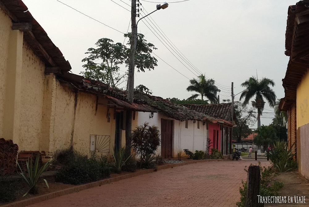 Las vida en las calles de San José de Chiquitos