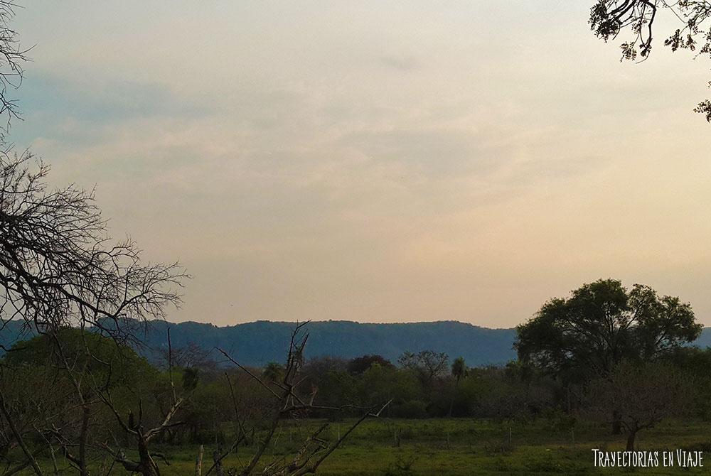 La vida al aire libre en San José de Chiquitos
