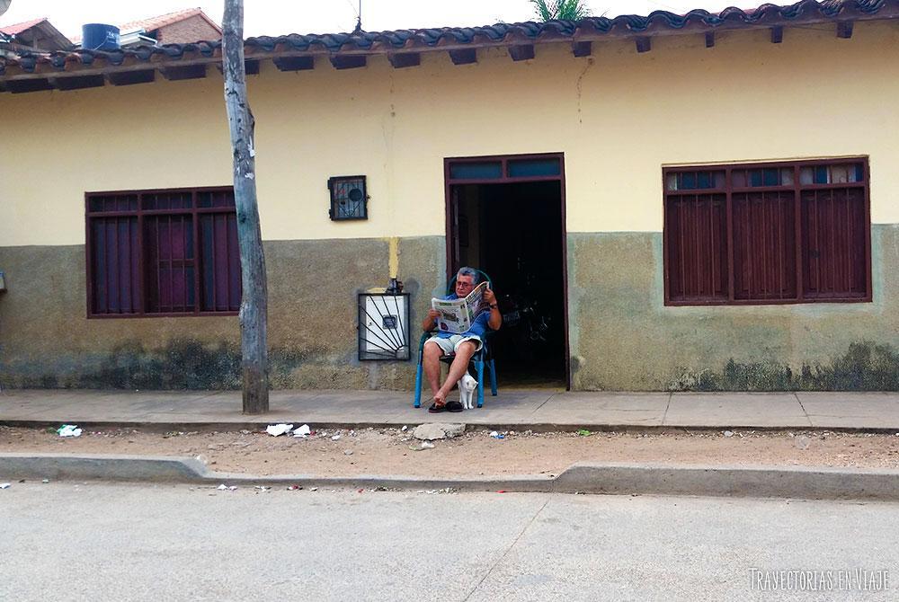 La vida de las personas en San José de Chiquitos