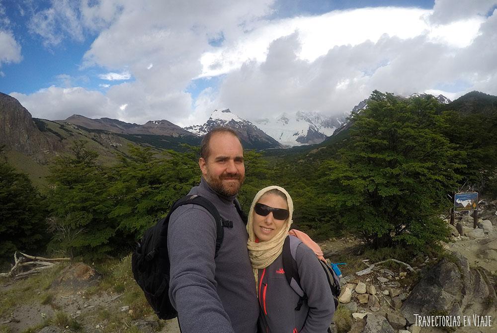 Mirador del trekking a Laguna Torre