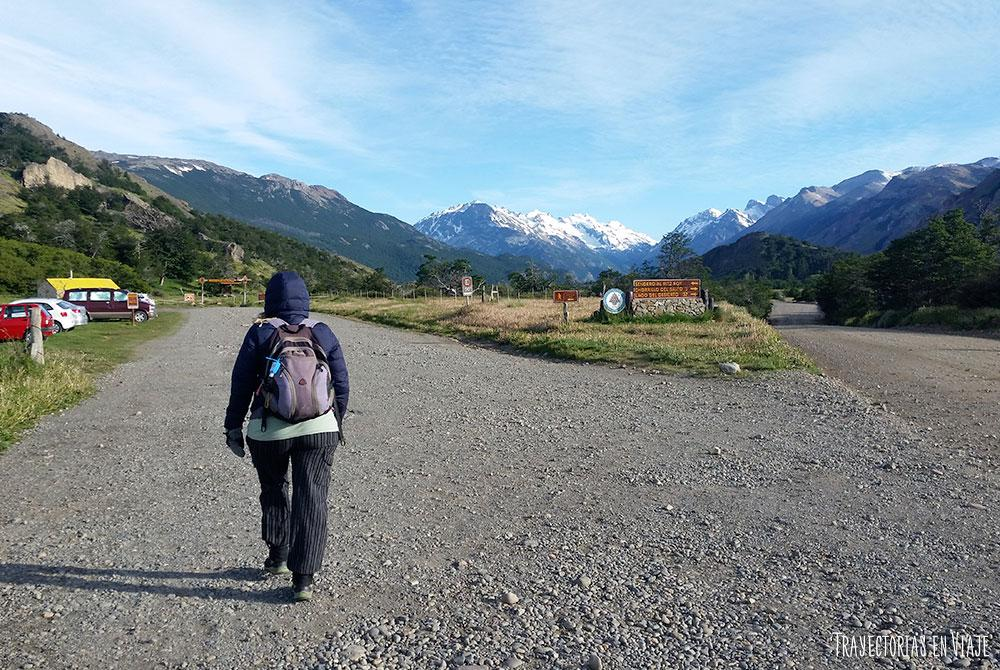 Camino al trekking Fitz Roy
