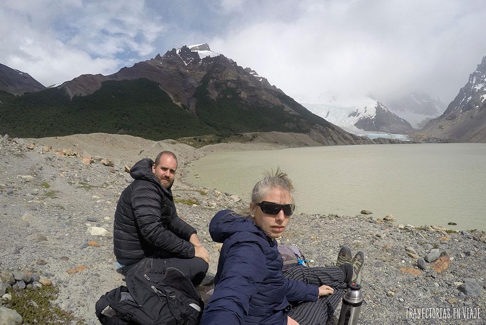 Fin del trekking hacia el Cerro Torre
