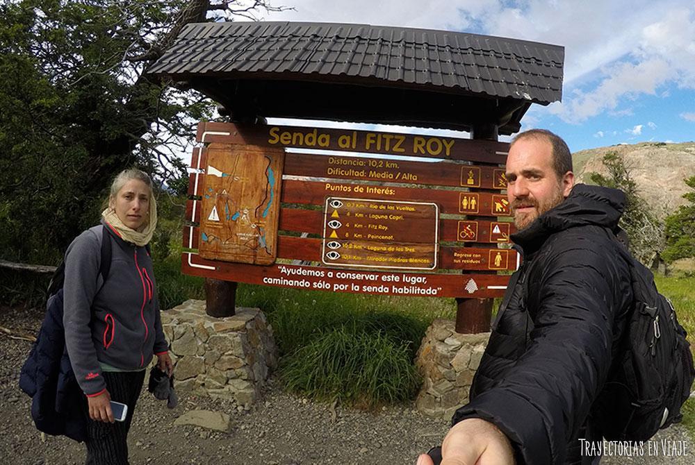 ¿Qué hacer en El Chaltén? El trekking hacia el Fitz Roy.