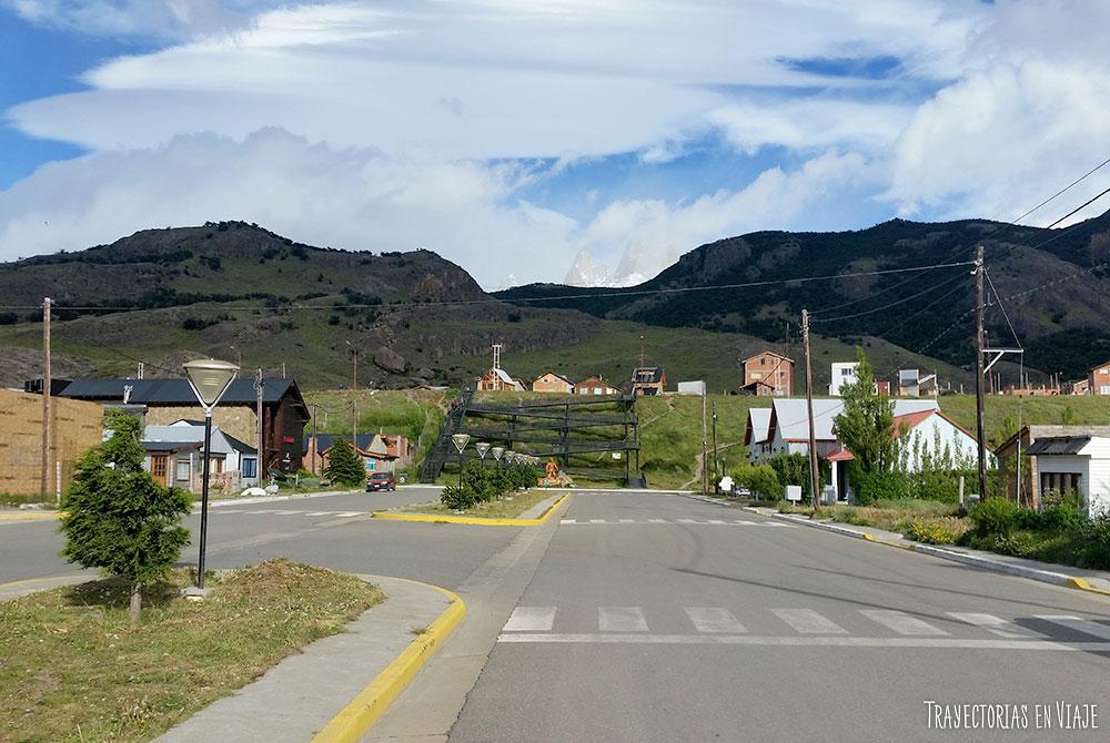 Calle principal de El Chaltén