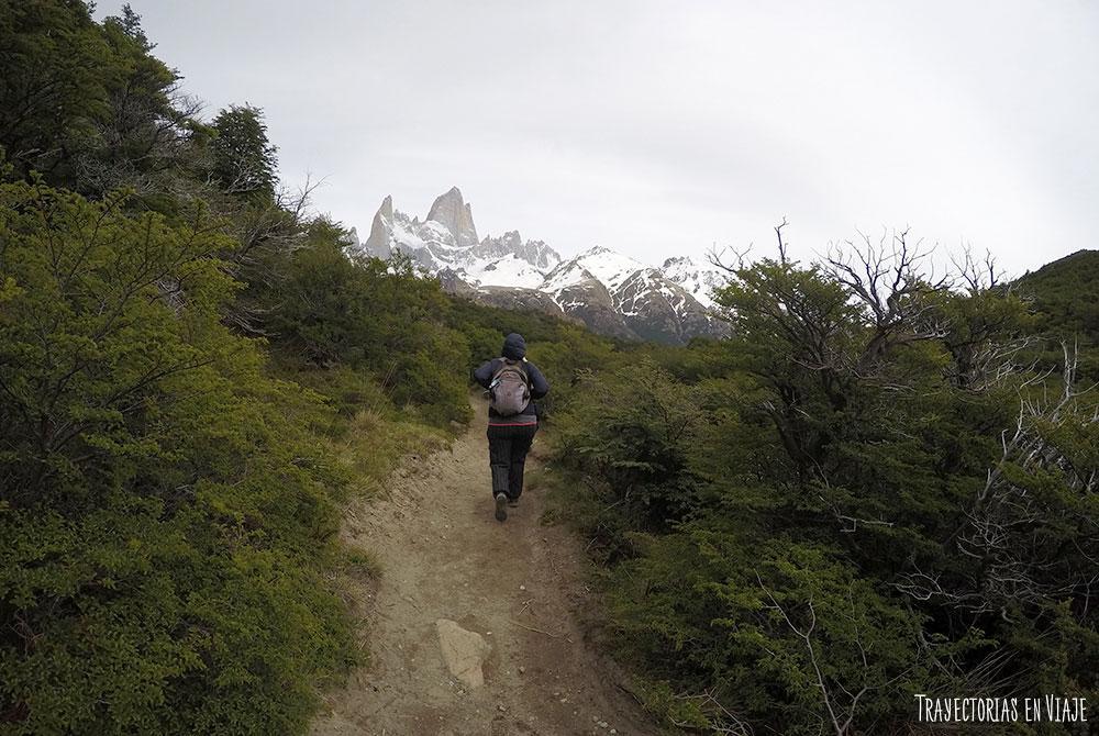 Trekking en El Chaltén hacia el Fitz Roy