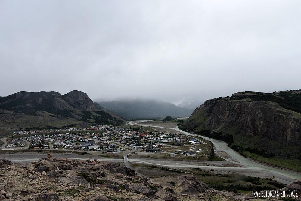 Uno de los trekking de El Chalten tiene esta vista.