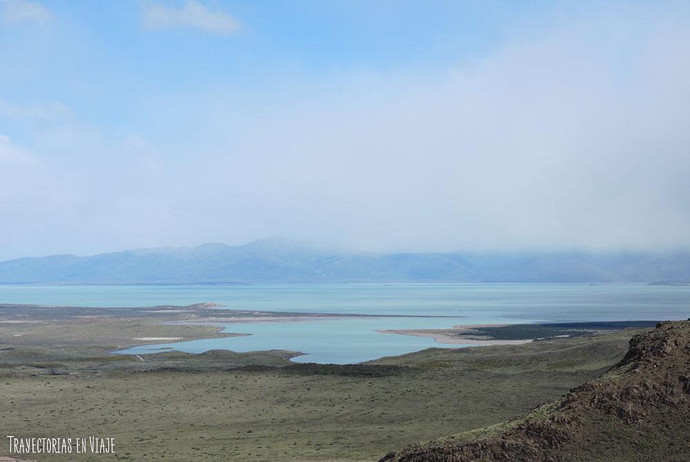 Lago Viedma desde uno de los miradores de El Chaltén.