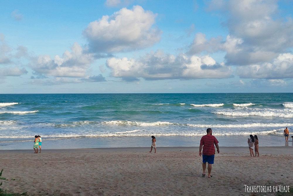 Vacaciones en Porto de Galinhas con mar movido