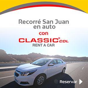 Recorré San Juan en auto con Classic
