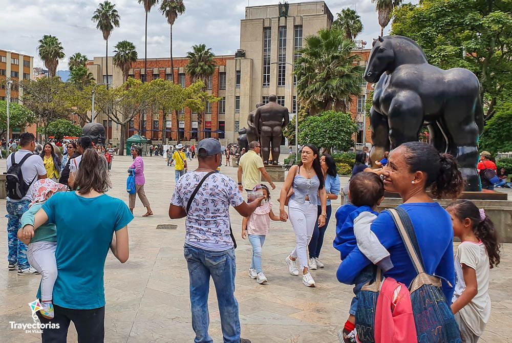 Qué hacer en Medellín - Plaza Botero